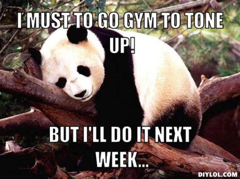 i don t go to the gym